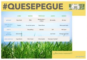horario 1 prov #quesepegue